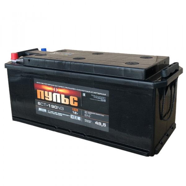 Аккумулятор ПУЛЬС 190.4 А/ч R+ EN1250