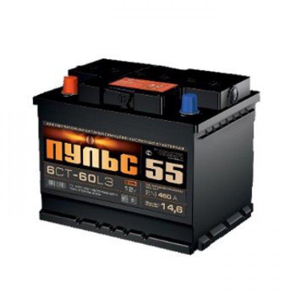 Аккумулятор ПУЛЬС 55 А/ч L+ EN450