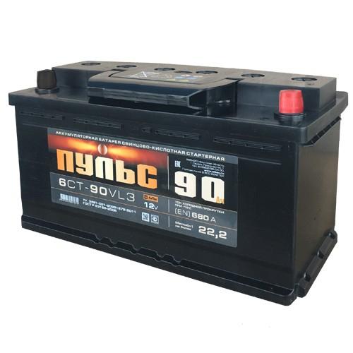 Аккумулятор ПУЛЬС 90 А/ч ОБР EN680