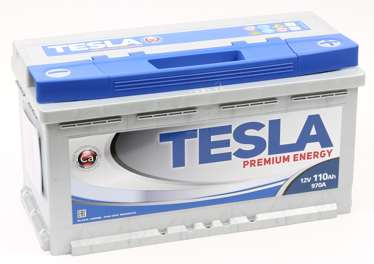 TESLA PREMIUM ENERGY 110 А/ч R+ EN970
