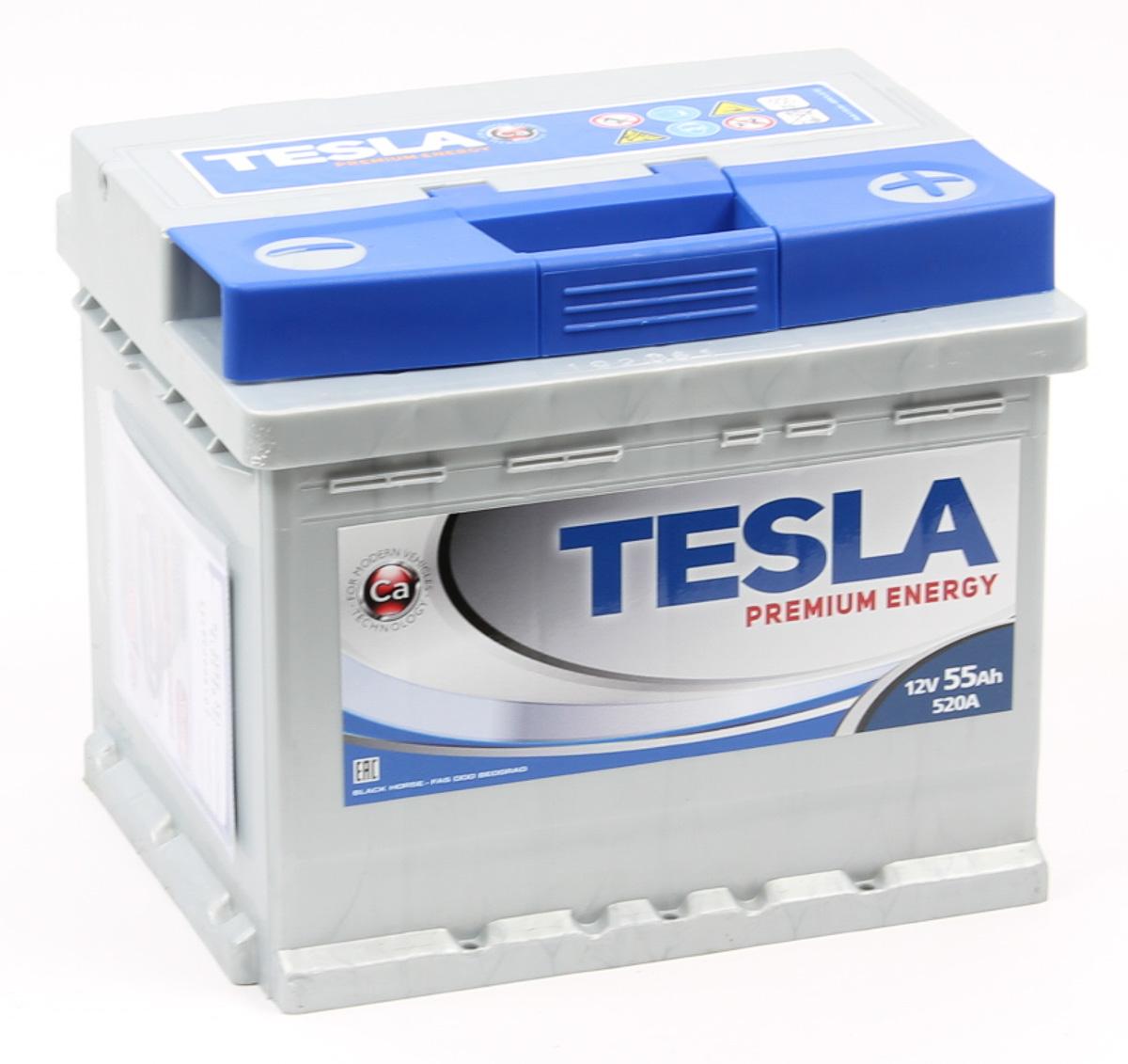 TESLA PREMIUM ENERGY 55 А/ч L+ EN540