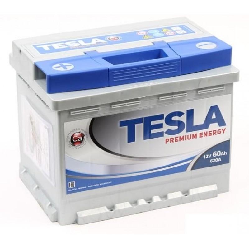 TESLA PREMIUM ENERGY 60 А/ч L+ EN620