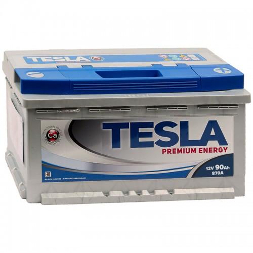 TESLA PREMIUM ENERGY 90 А/ч R+ EN870 низк.