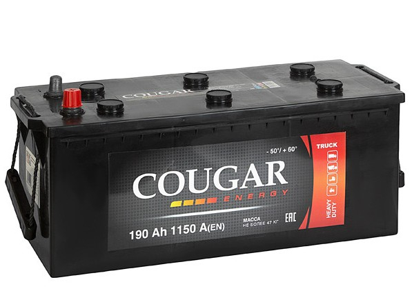 COUGAR Energy 190 А/ч R+ 1150A