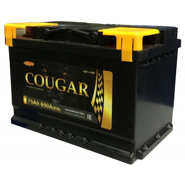 COUGAR Power 75 А/ч L+ 680А