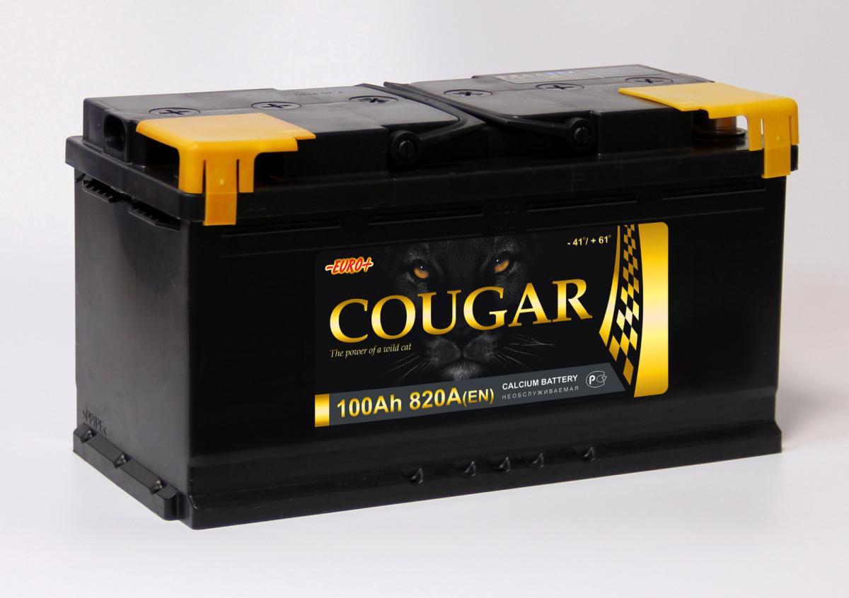 COUGAR Power 100 А/ч L+ 850А