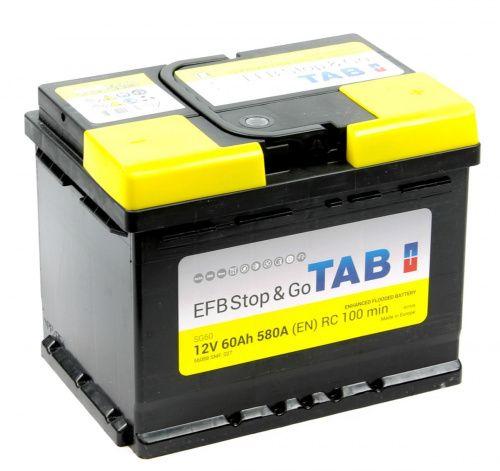 TAB EFB Stop & Go  6СТ-60 R+ EN580