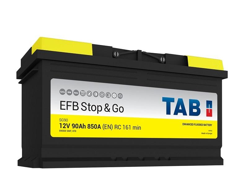 TAB EFB Stop&Go 6СТ-90 R+ EN850
