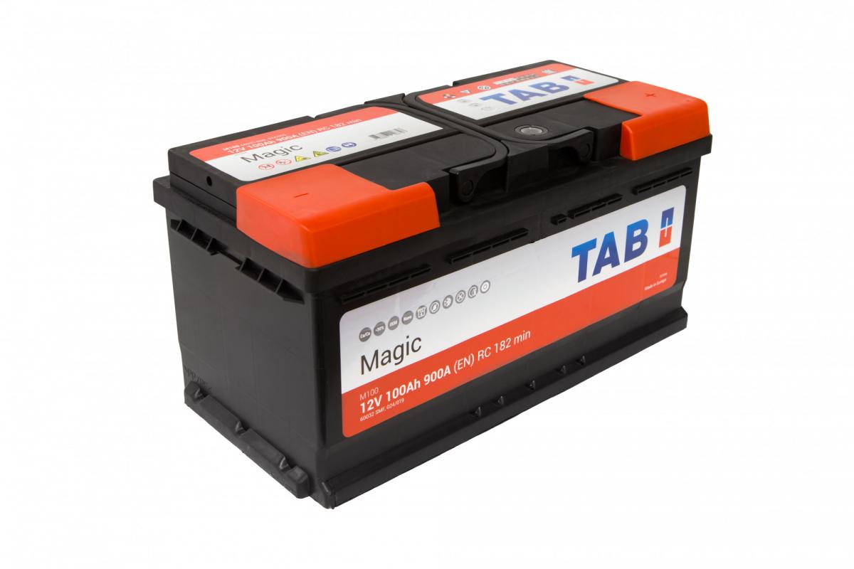 TAB Magic  6СТ-100 R+ EN 900