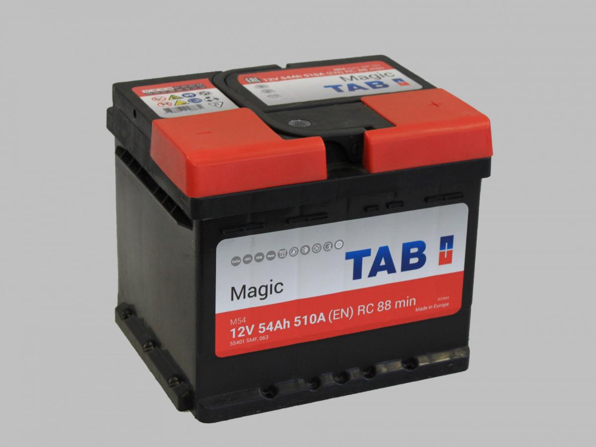 TAB Magic  6СТ-54 R+ EN 510 низк.