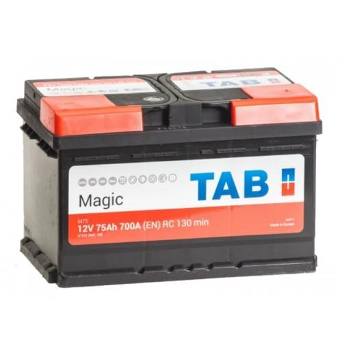 TAB Magic  75Ah 700A R+,низкий