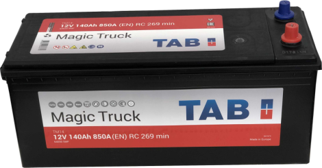 TAB Magic Truck  6СТ-140 EN850 евро.конус