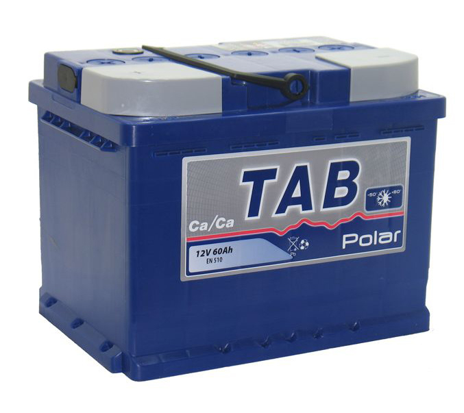 TAB Polar 6СТ-60 R+ EN550 низк.