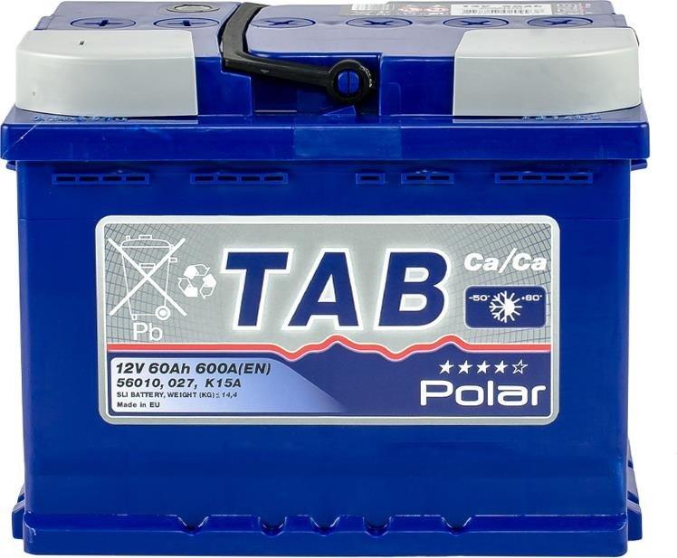 TAB Polar 60Ah 600A L+
