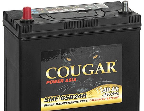 COUGAR SMF 65B24RS 50 А/ч EN480A