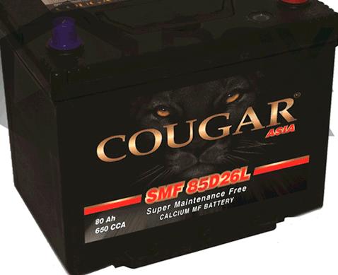 COUGAR SMF 85D26L 80 А/ч EN670A