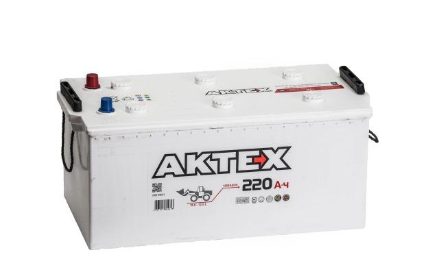 Аккумулятор АКТЕХ 220  L+ EN1500 EURO