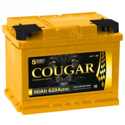 COUGAR PRO 62Ah 620A R+