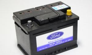 Аккумулятор FORD 52 А/ч R+ 500А