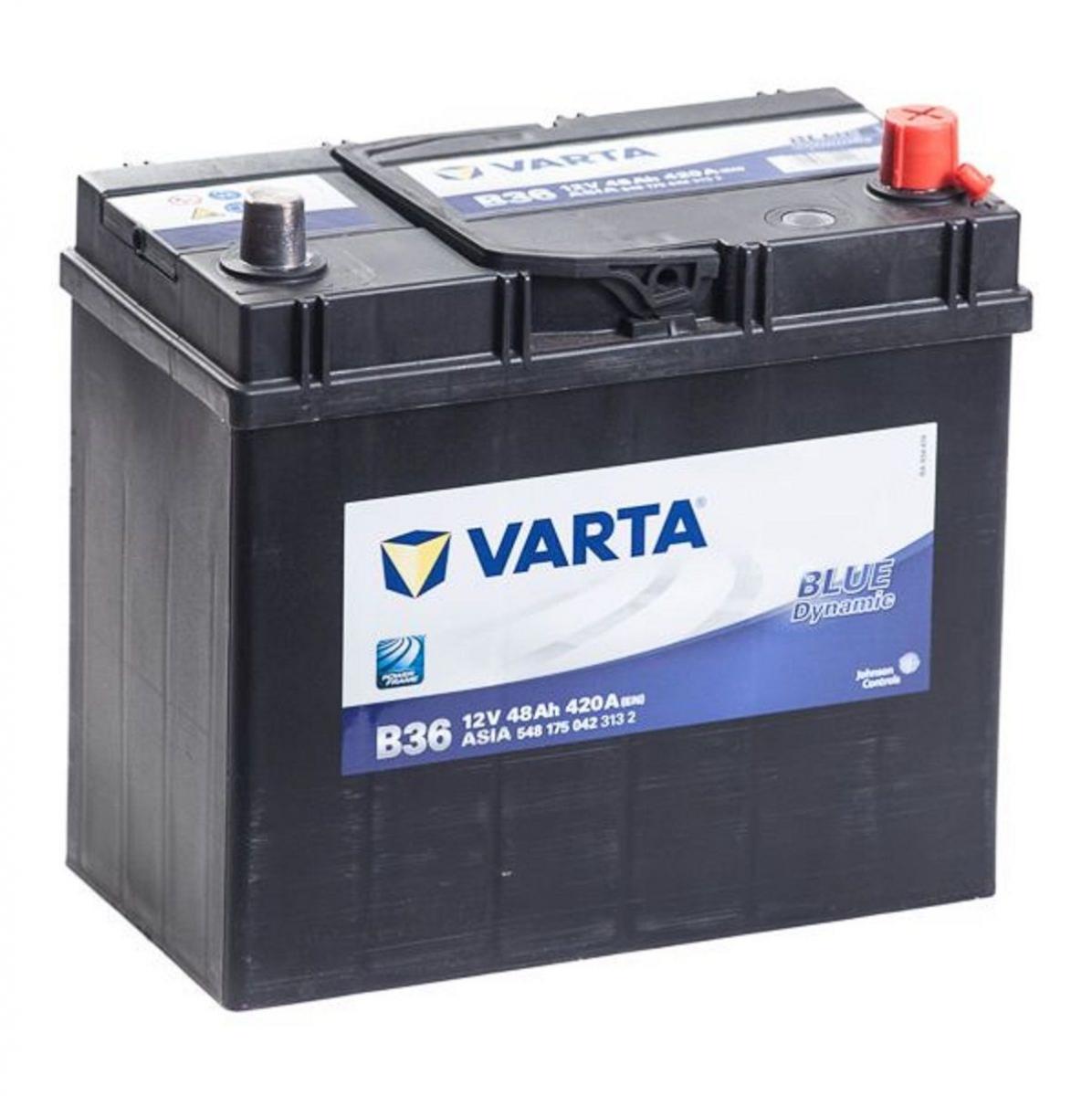 Varta Blue Dynamic  B24L 48Ah 420A