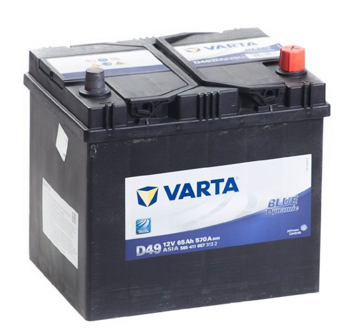 Varta Blue Dynamic  6СТ-65