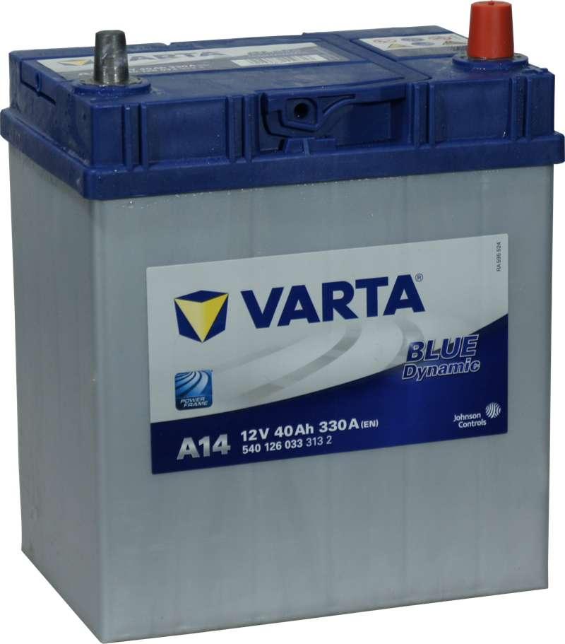 Varta Blue Dynamic  B19L 40Ah 330A