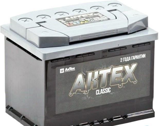 АКТЕХ CLASSIC 50Ah 520A R+,низкий