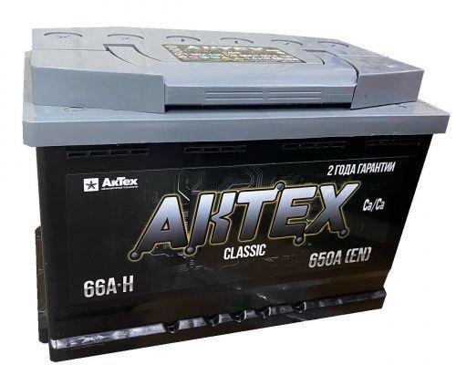 АКТЕХ CLASSIC 66Ah 650A L+