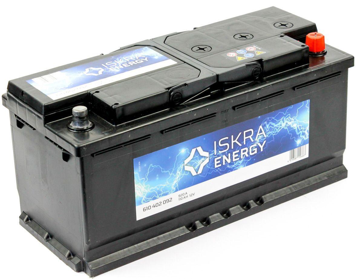 ISKRA ENERGY 110Ah 920A R+