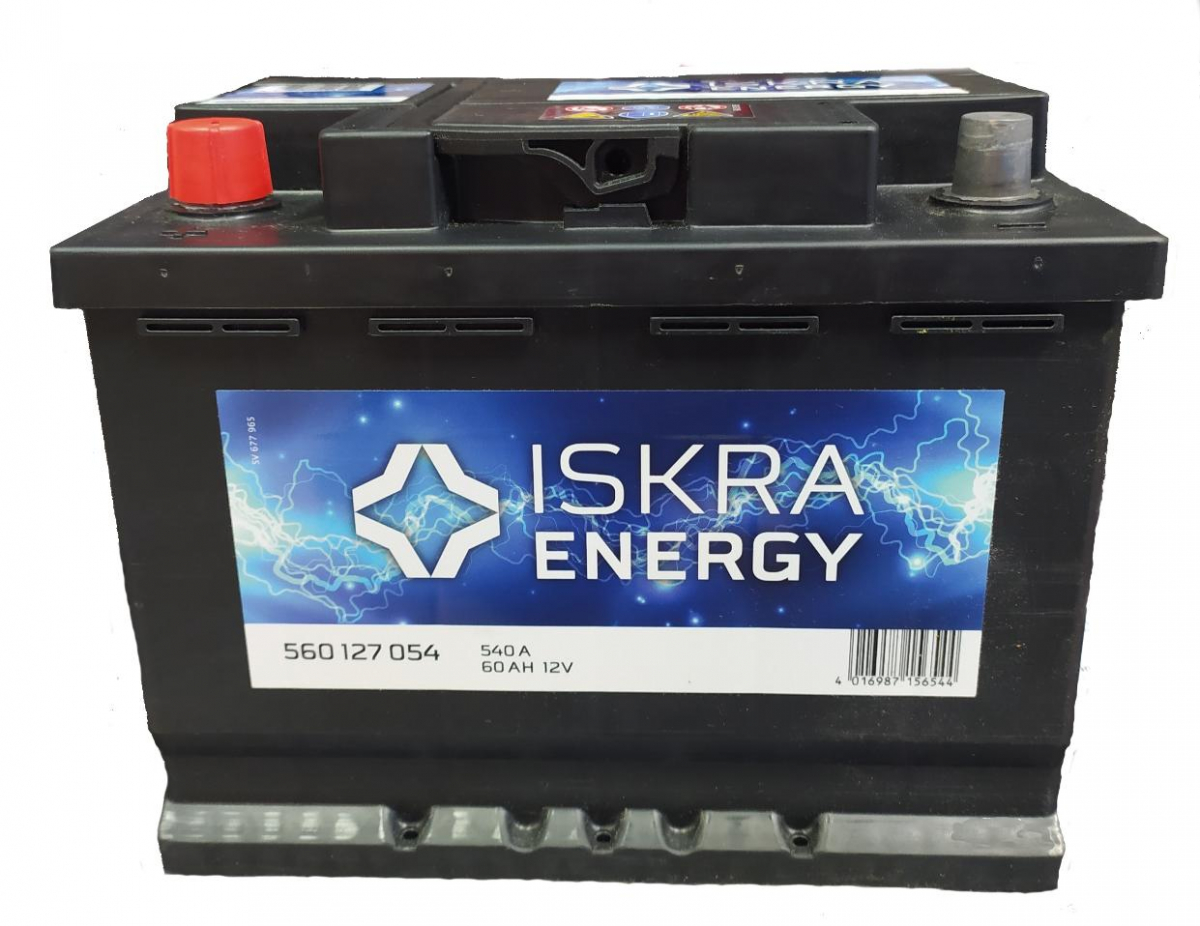 ISKRA ENERGY 60Ah 540A L+