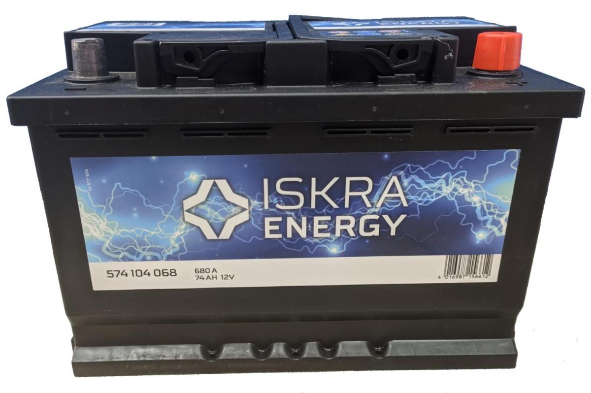 ISKRA ENERGY 6СТ-74