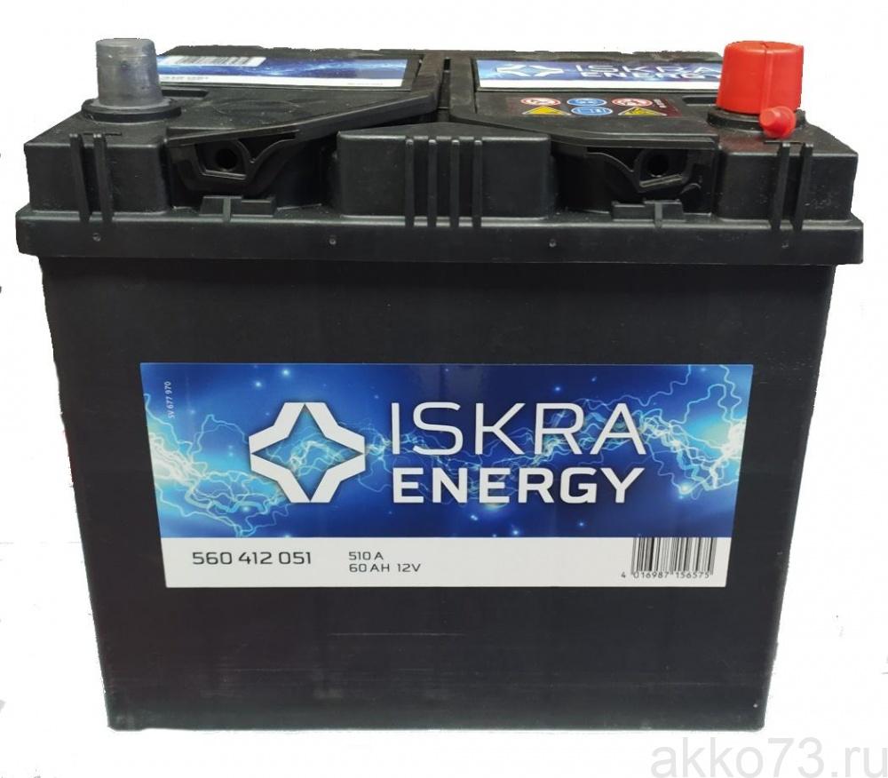 ISKRA ENERGY D23L 60Ah 510A