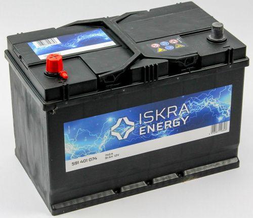 ISKRA ENERGY D31R 91Ah 740A