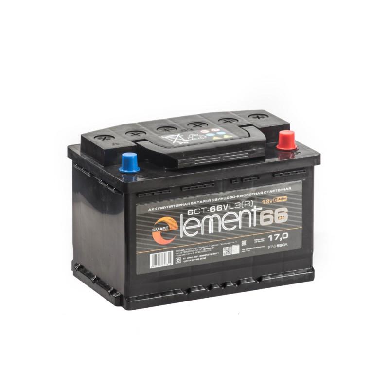 Smart ELEMENT 66Ah 580A R+