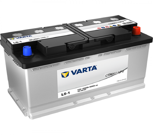 Varta Стандарт 100Ah 820A R+
