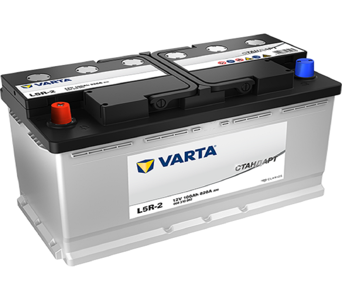 Varta Стандарт 100Ah 820A L+