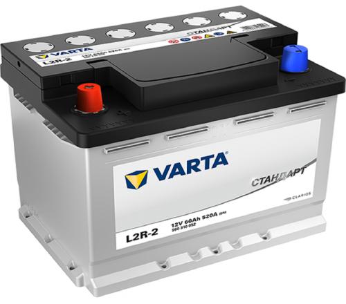 Varta Стандарт 60Ah 520A L+