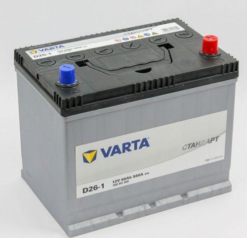 Varta Стандарт 6СТ-68R