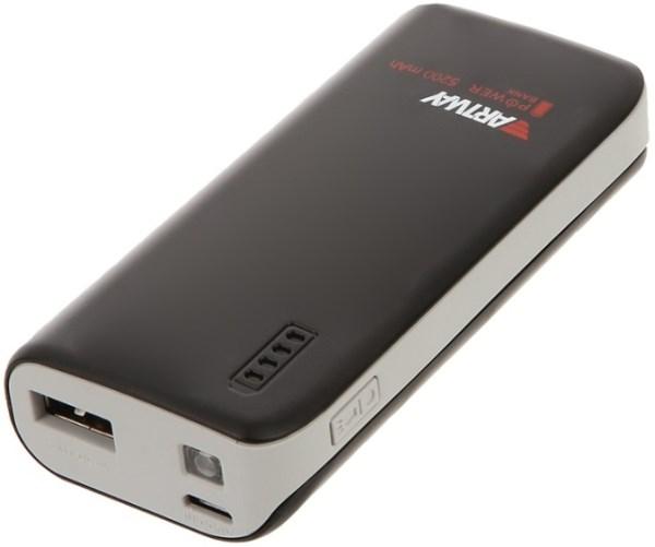 Внешний аккумулятор (power bank) Artway PB-5200 5200 мА-ч ,для моб. устройств