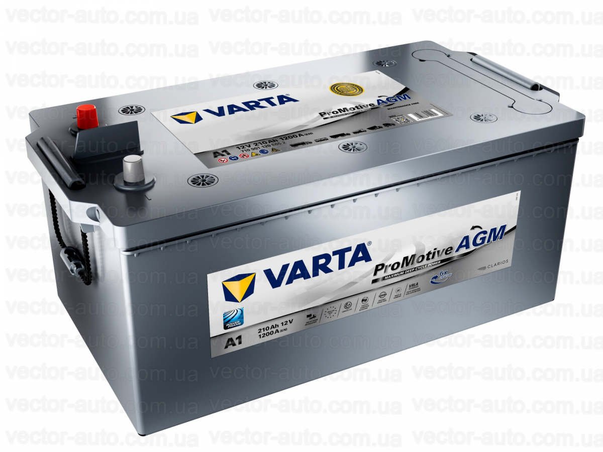 Varta Promotive AGM 6СТ-210 (710901120) евро.конус