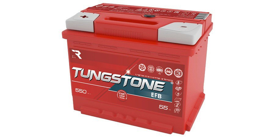 TUNGSTONE EFB 55Ah 550A L+
