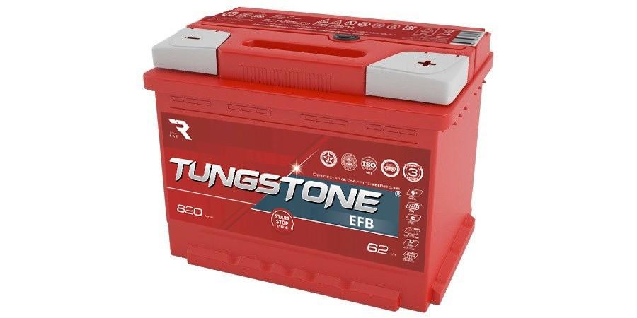 TUNGSTONE EFB 62Ah 620A R+