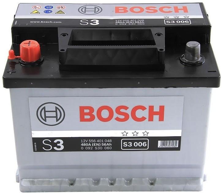 BOSCH S3 56Ah 480A L+