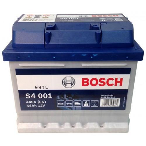 BOSCH S4 44Ah 440A R+,низкий