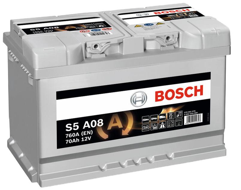 BOSCH S5 AMG 70Ah 760A R+