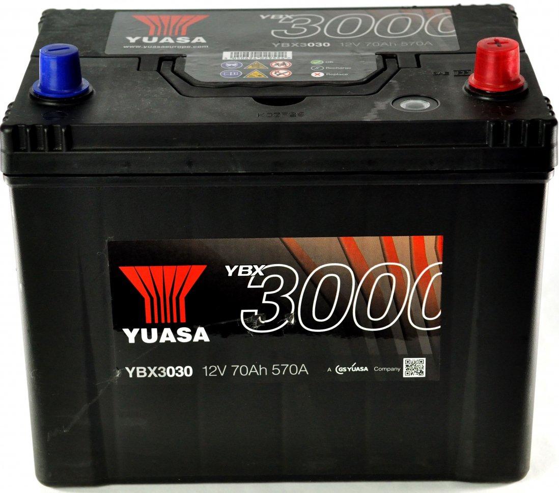 YUASA YBX3068-070 (85D26L) 72Ah 630A