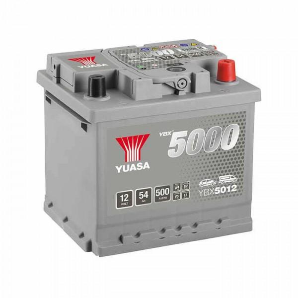 YUASA YBX5012-054 54Ah 500A R+
