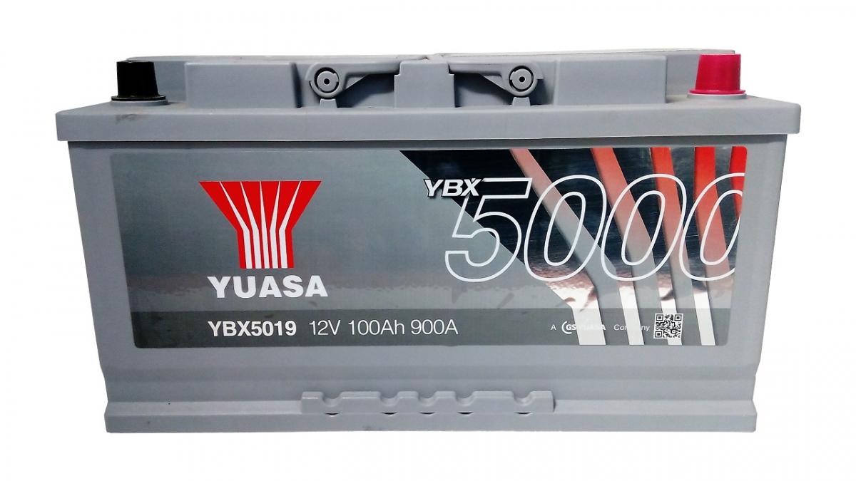 YUASA YBX5019-100 100Ah 900A R+