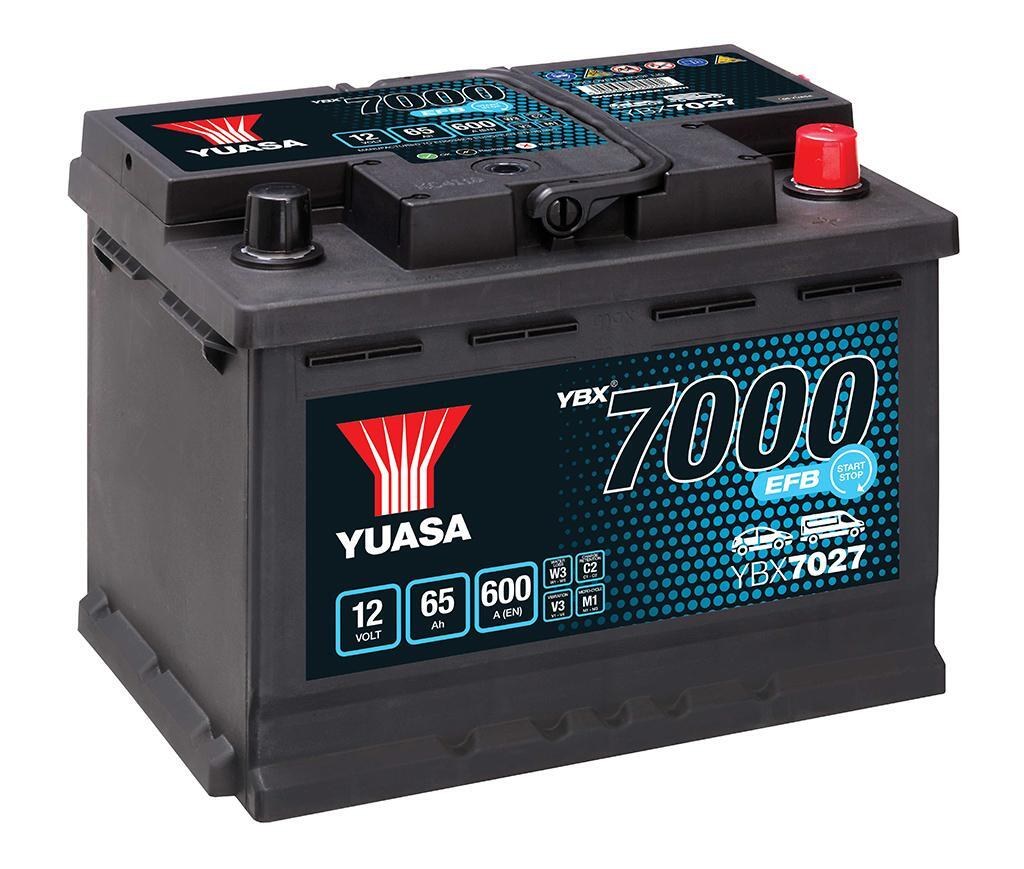 YUASA YBX7027-065 65Ah 600A R+