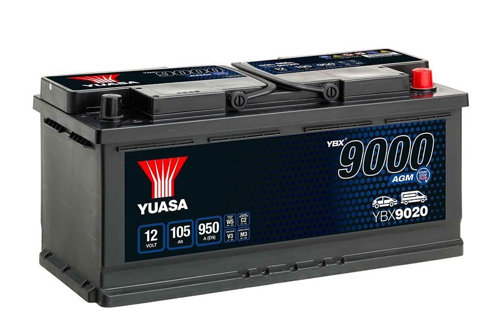 YUASA YBX9020-105 105Ah 950A R+